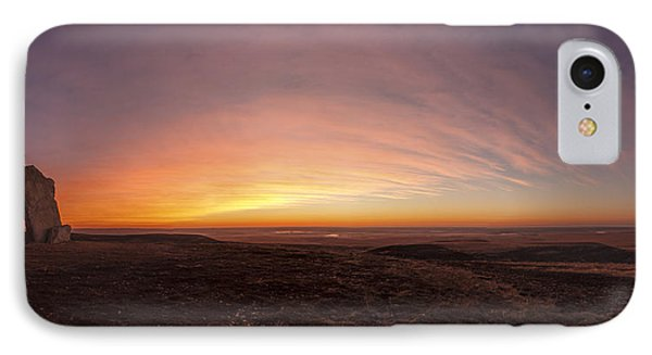 Before Sunrise At Teter Rock IPhone Case by Scott Bean