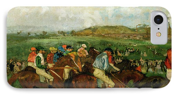 Before The Departure IPhone Case by Edgar Degas