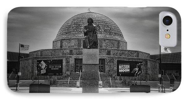 Before The Spring Storm Chicago Adler Planetarium Bw IPhone Case