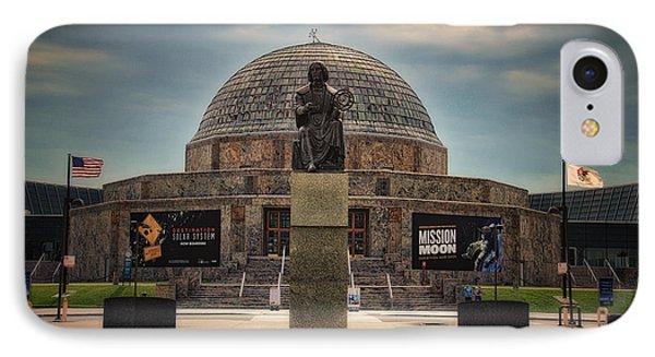Before The Spring Storm Chicago Adler Planetarium IPhone Case