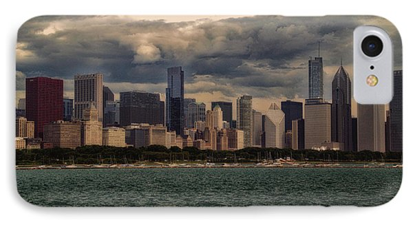 Before The Spring Storm Chicago Lakefront 01 IPhone Case