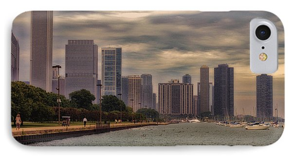 Before The Spring Storm Chicago Lakefront 02 IPhone Case