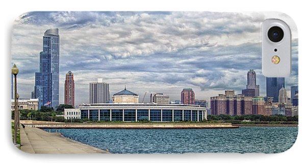 Before The Spring Storm Chicago Shedd Aquarium Eastside 01 IPhone Case