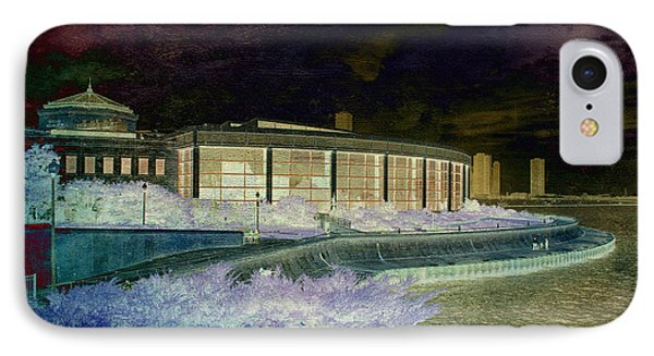 Before The Spring Storm Chicago Shedd Aquarium Eastside Textured IPhone Case