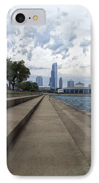 Before The Spring Storm Chicago Shedd Aquarium Eastside Vertical IPhone Case