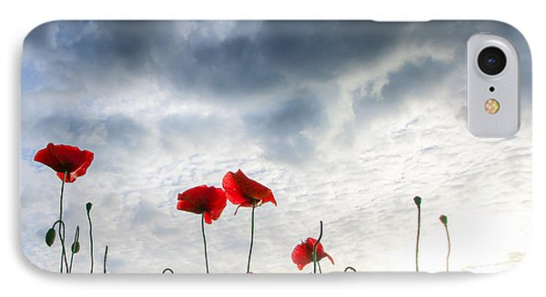 IPhone Case featuring the photograph Before The Storm by Franziskus Pfleghart