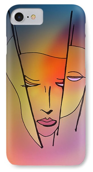 IPhone Case featuring the drawing Before The Triple Hecate by Keith A Link