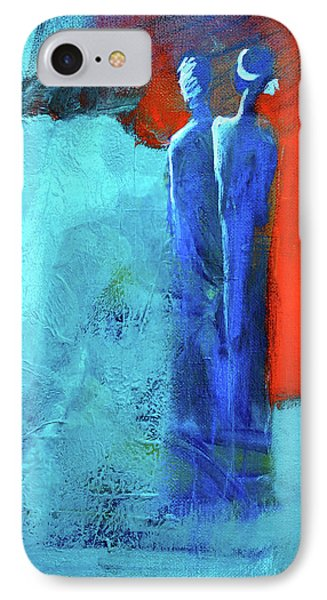 IPhone Case featuring the painting Before The Wedding by Nancy Merkle