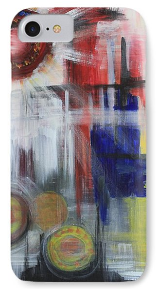 IPhone Case featuring the painting Begging by Sladjana Lazarevic
