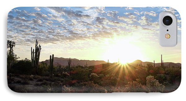 IPhone Case featuring the photograph Beginning A New Day by Monte Stevens