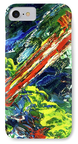 Beginnings #186 Phone Case by Donald k Hall