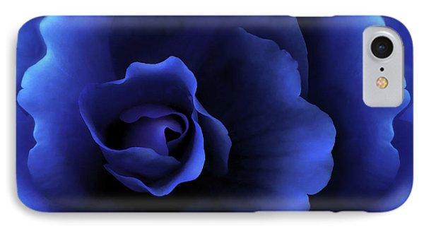 Begonia Floral Dark Secrets Phone Case by Jennie Marie Schell