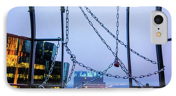 City Behind The Chains IPhone Case