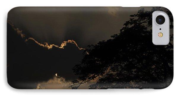 Behind The Cloud IPhone Case by Kiran Joshi