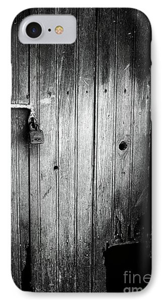 Behind The Locked Door Phone Case by John Rizzuto