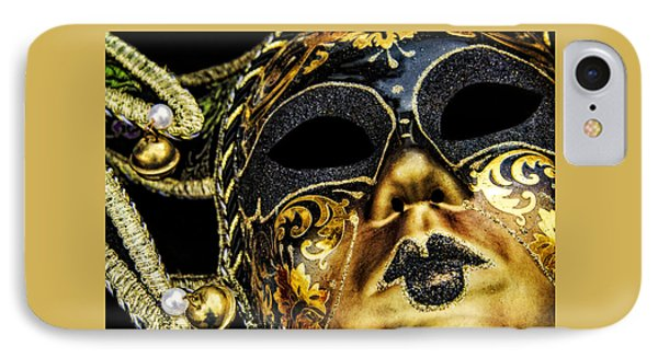IPhone Case featuring the photograph Behind The Mask by Carolyn Marshall