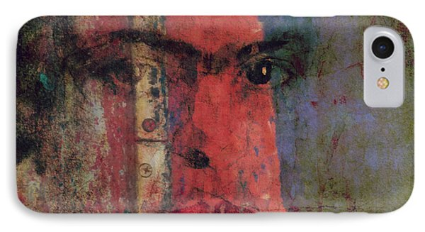 Behind The Painted Smile IPhone Case by Paul Lovering