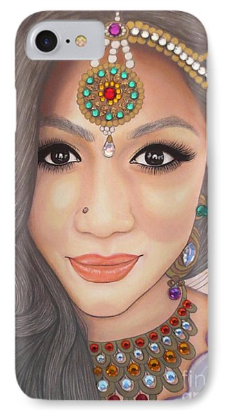 Bejeweled Beauties - Chandni IPhone Case