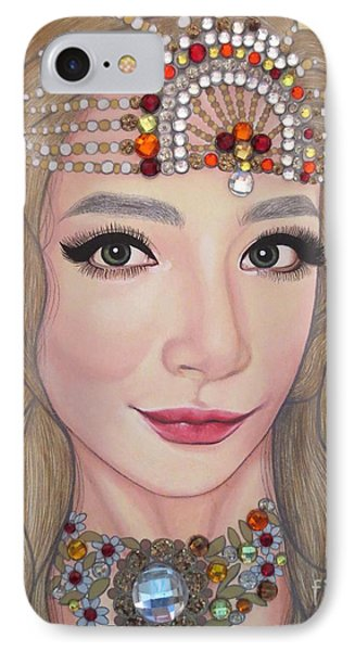 Bejeweled Beauties - Lucy IPhone Case