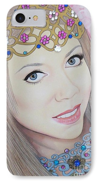 Bejeweled Beauties - Veronica IPhone Case