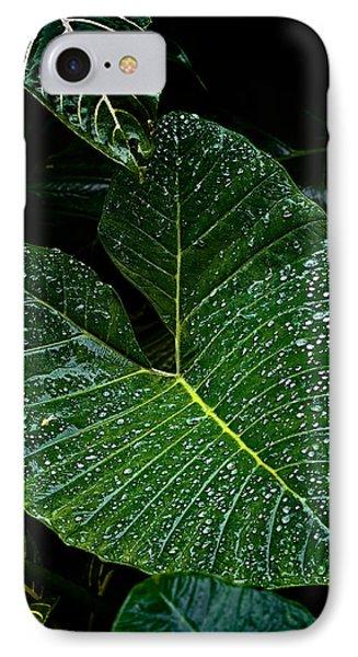 Bejeweled Leaf Phone Case by Christopher Holmes
