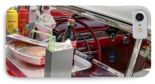 Bel Air 1956. Miami IPhone Case by Juan Carlos Ferro Duque