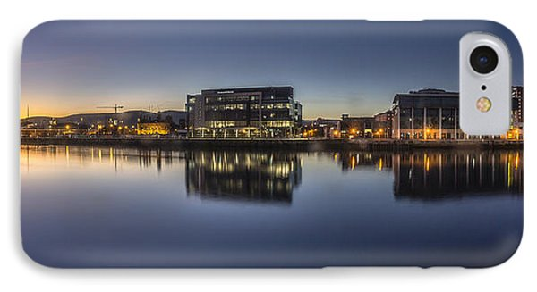 Belfast Near The Docks IPhone Case