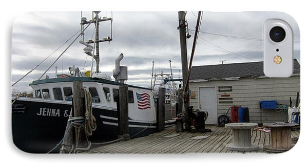 Belford Nj Fishing Port IPhone Case