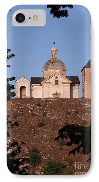 IPhone Case featuring the photograph Belfry And Chapel Of Saint Sebastian by Michal Boubin