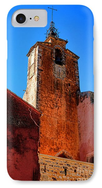 IPhone Case featuring the photograph Belfry In Provence by Olivier Le Queinec