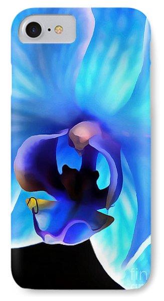 Believe In Blue IPhone Case by Krissy Katsimbras