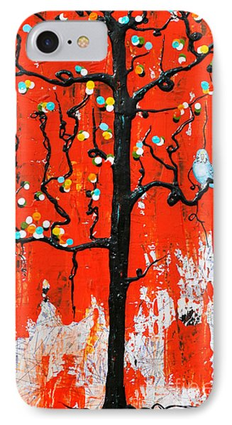 IPhone Case featuring the painting Believe by Natalie Briney