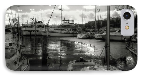 Bell Haven Docks IPhone Case by Paul Seymour