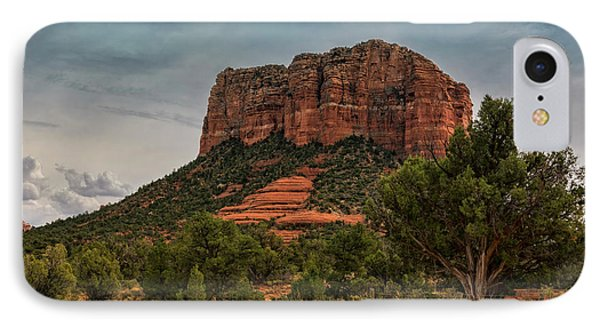 IPhone Case featuring the photograph Courthouse Butte - Sedona  by Saija Lehtonen