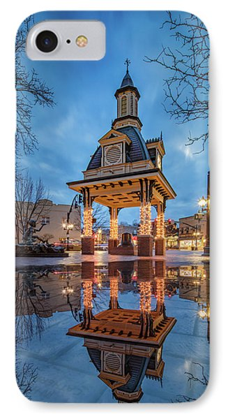 Bell Tower  In Beaver  IPhone 7 Case by Emmanuel Panagiotakis