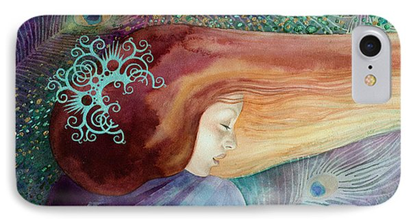 IPhone Case featuring the painting Bella Aurora by Ragen Mendenhall