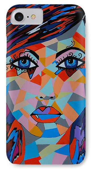 IPhone Case featuring the painting Bella by Kathleen Sartoris