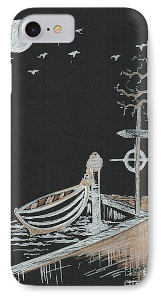 Bella Lunar Point IPhone Case