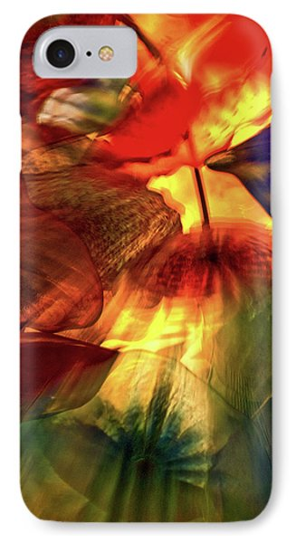 Bellagio Ceiling Sculpture Abstract IPhone Case by Stuart Litoff