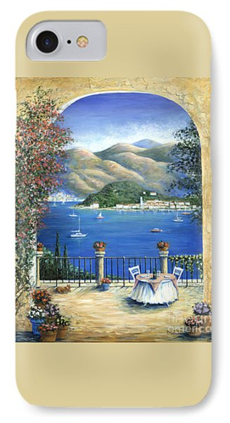 Bellagio Lake Como From The Terrace Phone Case by Marilyn Dunlap