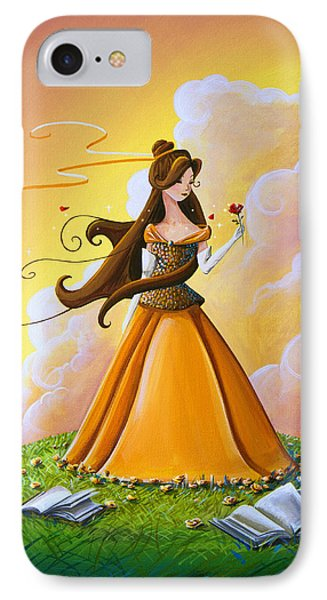 Belle IPhone Case by Cindy Thornton