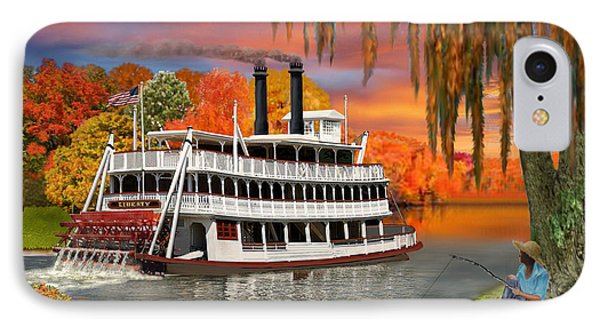 Belle Of The Bayou IPhone Case by Glenn Holbrook