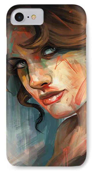 IPhone Case featuring the digital art Belle by Steve Goad