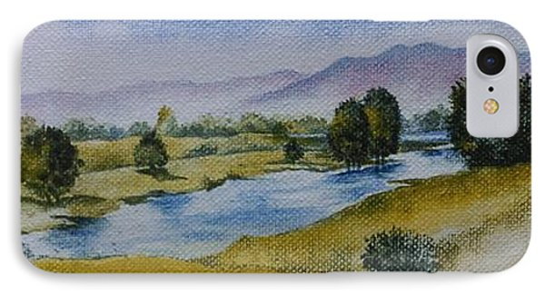 Bellinger Valley In Spring IPhone Case