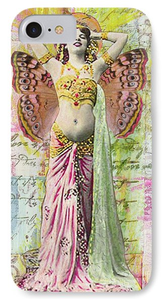 IPhone Case featuring the mixed media Belly Dancer by Desiree Paquette