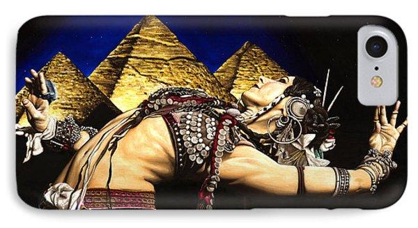 Bellydance Of The Pyramids - Rachel Brice IPhone Case