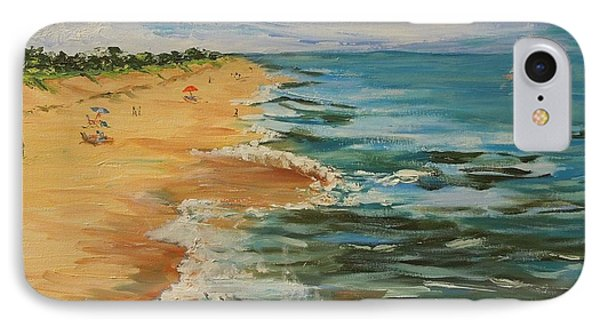 Beloved Beach - Sold IPhone Case by Judith Espinoza