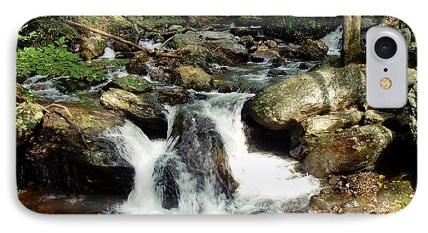 IPhone Case featuring the photograph Below Anna Ruby Falls by Jerry Battle