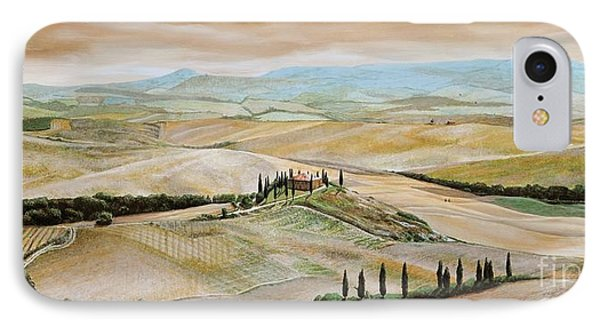 Belvedere - Tuscany IPhone Case