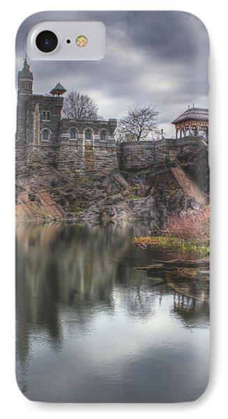 Belvedere Castle Vertical Phone Case by Ariane Moshayedi